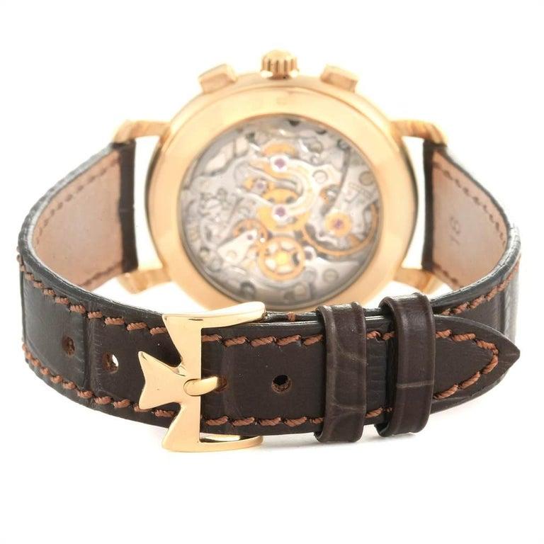 Vacheron Constantin Les Historique 18 Karat Yellow Gold Men's Watch 47101/1 For Sale 5