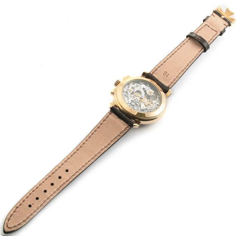 Vacheron Constantin Les Historique 18 Karat Yellow Gold Men's Watch 47101/1 For Sale 6
