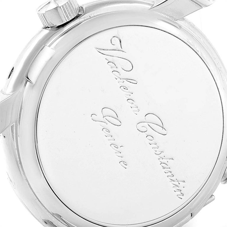 Vacheron Constantin Malte Dual Time Regulator White Gold Men's Watch 42005 For Sale 3