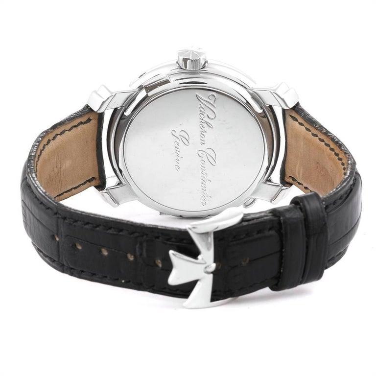 Vacheron Constantin Malte Dual Time Regulator White Gold Men's Watch 42005 For Sale 4