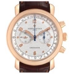 Vacheron Constantin Malte Rose Gold Manual Chronograph Men's Watch 47120