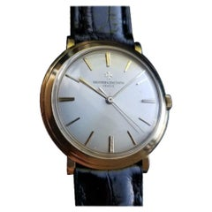 VACHERON & CONSTANTIN Men's 18K Gold 4986 Hand-Wind Dress Watch c.1950s LV599