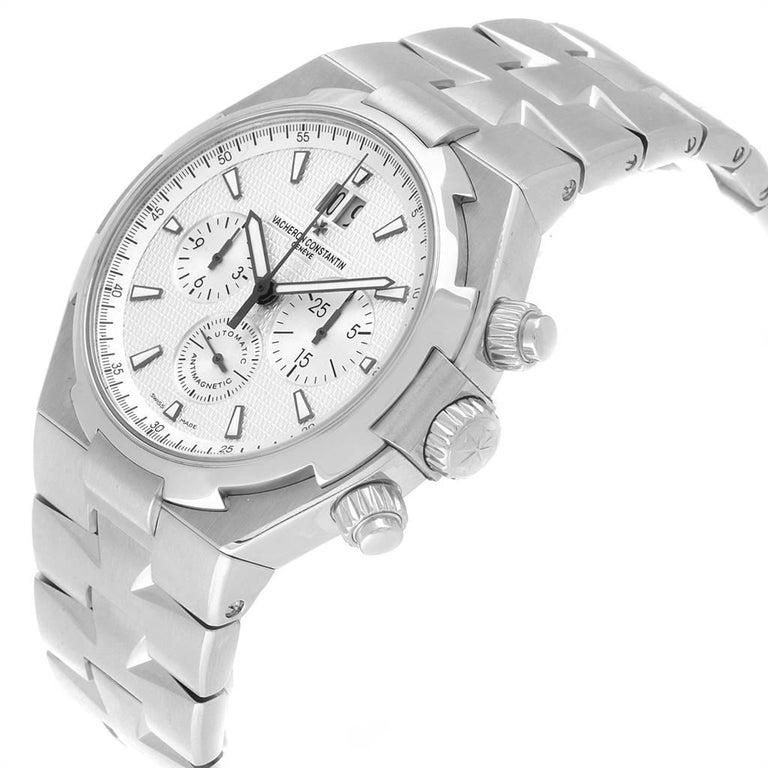 Vacheron Constantin Overseas Chronograph Silver Dial Men's Watch 49150 For Sale 1