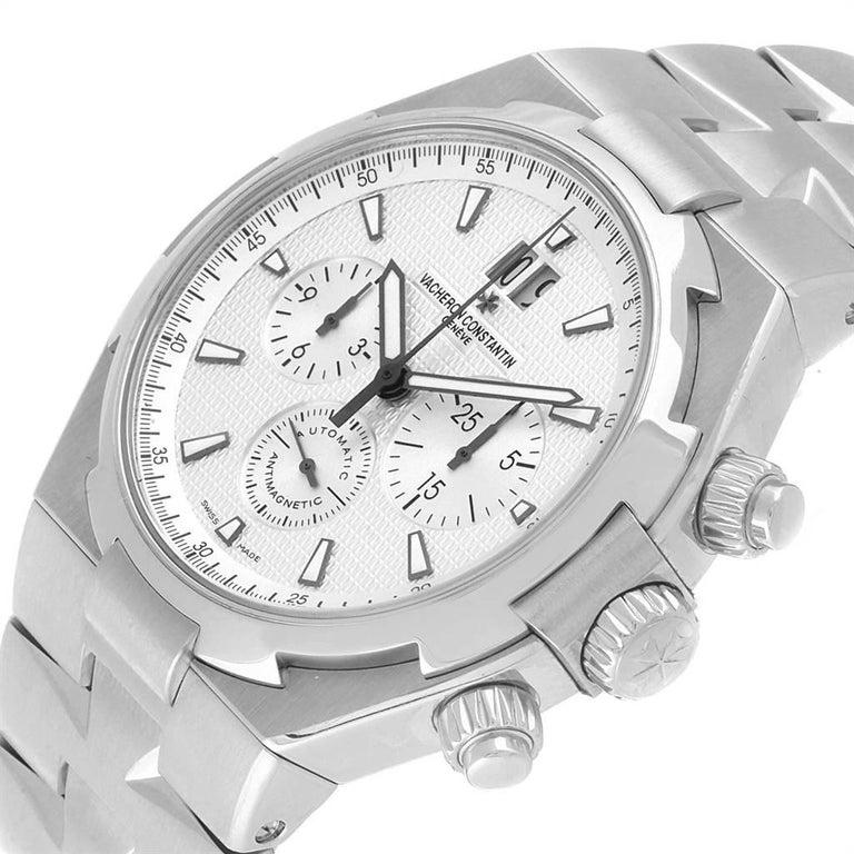 Vacheron Constantin Overseas Chronograph Silver Dial Men's Watch 49150 For Sale 2