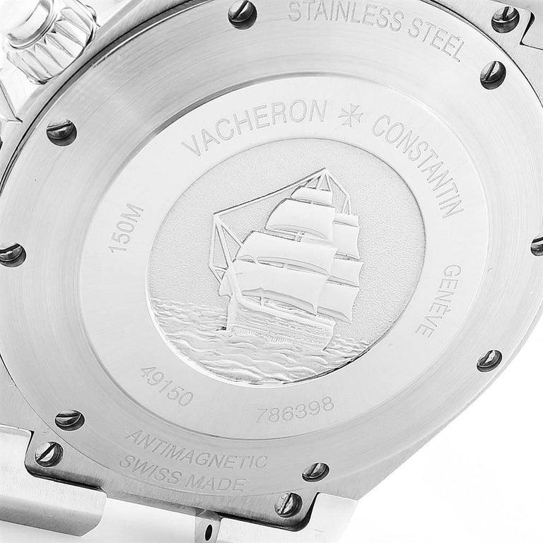 Vacheron Constantin Overseas Chronograph Silver Dial Men's Watch 49150 For Sale 3