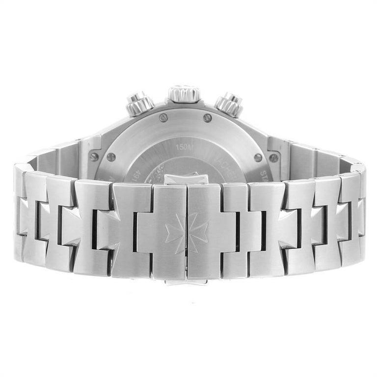 Vacheron Constantin Overseas Chronograph Silver Dial Men's Watch 49150 For Sale 4