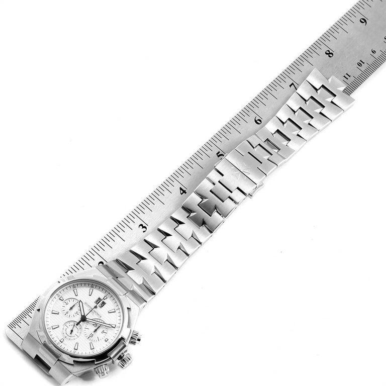 Vacheron Constantin Overseas Chronograph Silver Dial Men's Watch 49150 For Sale 5