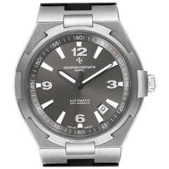 Vacheron Constantin Overseas Deep Stream Grey Dial Steel Men's Watch 47040