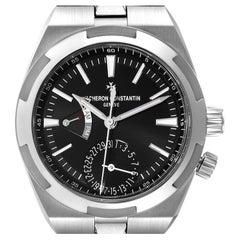 Vacheron Constantin Overseas Dual Time Steel Mens Watch 7900V Unworn