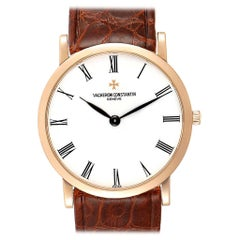 Vacheron Constantin Patrimony 18 Karat Rose Gold Ultra Thin Men's Watch 33093