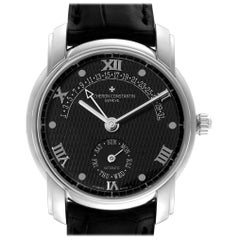 Vacheron Constantin Patrimony 31 Day Retrograde Platinum Watch 47245