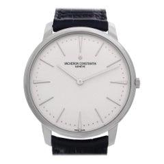 Vacheron Constantin Patrimony 81180/000g, White Dial, Certified