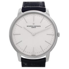 Vacheron Constantin Patrimony 81180/000g, White Dial, Certified and