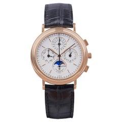 Vacheron Constantin Patrimony Cronograph Perpetual Calendar Watch 18k Gold Case