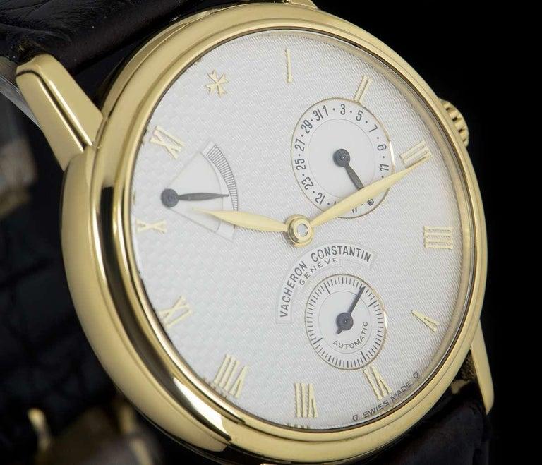 Vacheron Constantin Patrimony Gold White Dial 47200/000J ...