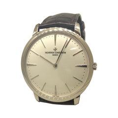 Vacheron Constantin Patrimony Grand Taille White Gold Men's Watch 81180/000g