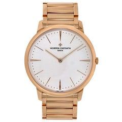 Vacheron Constantin Patrimony Rose Gold Manual Watch 81180/CB1R-9159