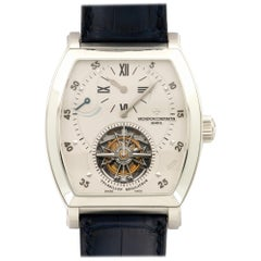 Vacheron Constantin Platinum Malte Tourbillon Regulator Wristwatch Ref 30080