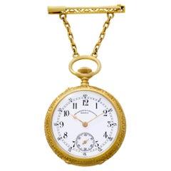 Vacheron Constantin Pocket Watch 185030, Black Dial, Certified