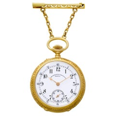 Vacheron Constantin Pocket Watch 185030 Case 18 Karat Porcelain Dial Manual