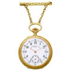 Vacheron Constantin Pocket Watch 185030, Color Dial, Certified