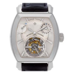 Vacheron Constantin, Silver Dial, Certified and Warranty