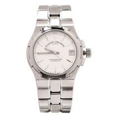Vacheron Constantin Stainless Steel Overseas Chronometer Self-Winding Wristwatch