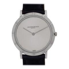 Vacheron Constantin Ultra Thin 6498, Silver Dial, Certified