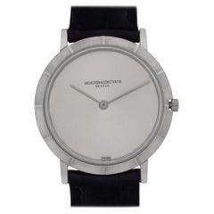 Vacheron Constantin Ultra Thin 6498, Black Dial, Certified