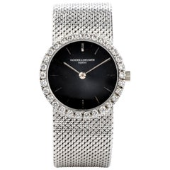 Vacheron Constantin Vintage Diamond 18 Karat White Gold Ladies Watch