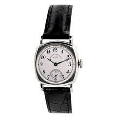 Vacheron Constantin White Gold Cushion Shaped Art Deco Manual Watch