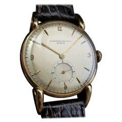 Vacheron & Constatin Men's 18k Solid Gold Hand-Winding Dress Watch c.1950s LV598