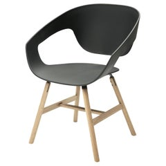 Vad Set of 2 Black Chairs by Luca Nichetto # 1