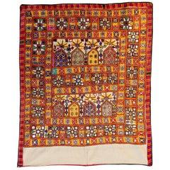 Vaghadia Rabari Chako, Textil, hängend, Mitte des 20. Jahrhunderts