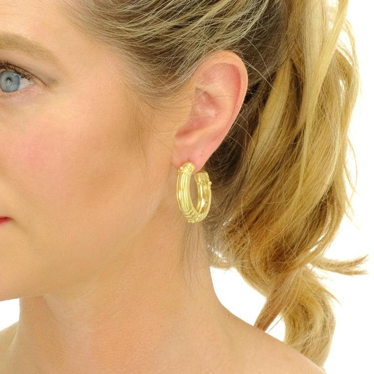 Women's Vahe Naltchayan Hoop Earrings For Sale