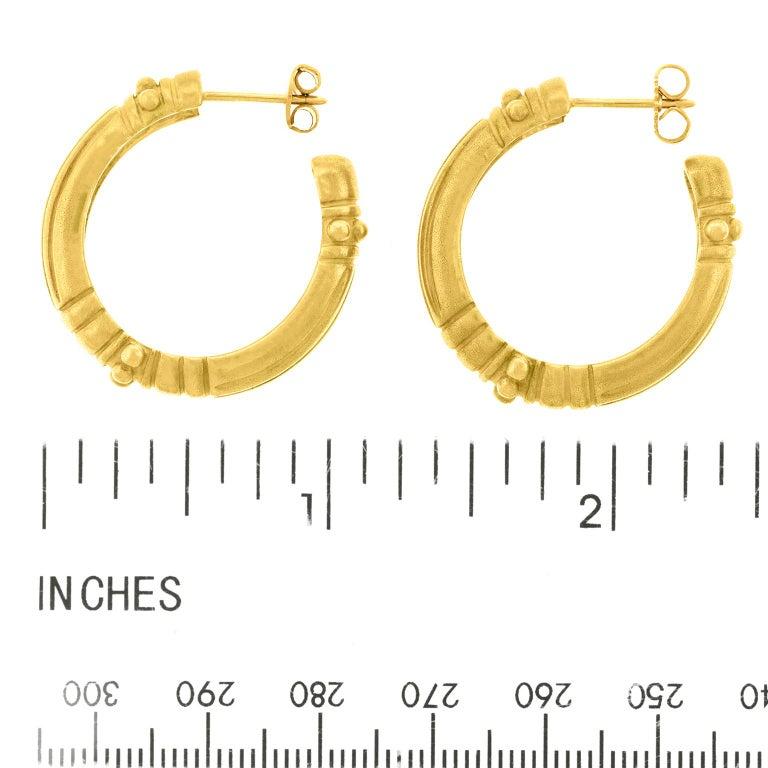 Vahe Naltchayan Hoop Earrings For Sale 2