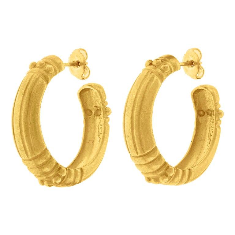 Vahe Naltchayan Hoop Earrings For Sale