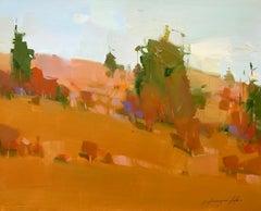 Autumn Palette, Original Oil Painting, Handmade artwork