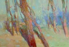 Blossom Spring, Original Oil Painting, Handmade Artwork