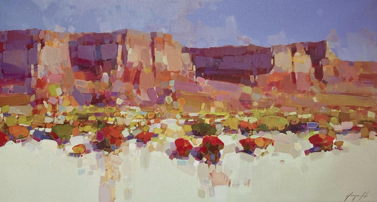 Vahe Yeremyan Still-Life Painting - Canyon View, Print on Canvas