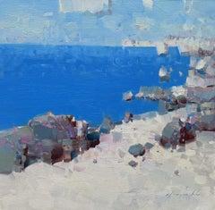 Coastal, Original oil Painting, Ready to Hang