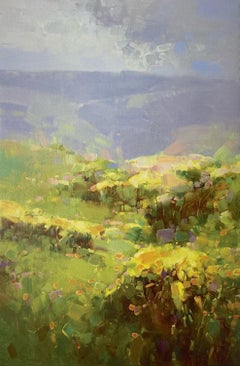 Flowers Valley, Print on Canvas