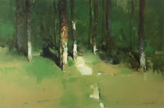 Forest Side, Painting, Oil on Canvas