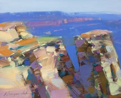 Grand Canyon, Original Oil Painting, Handmade Artwork