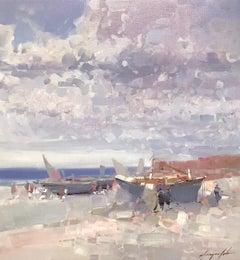 Harbor Print on Canvas