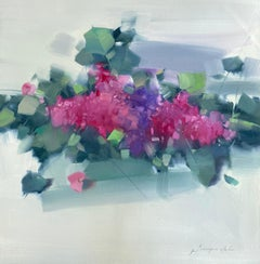 Lilacs, Original oil Painting, Ready to Hang