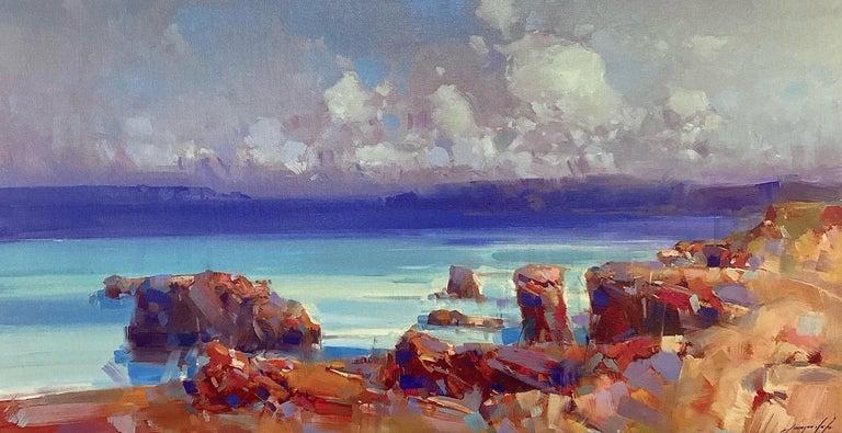 Vahe Yeremyan Still-Life Painting - Ocean Side, Print on Canvas