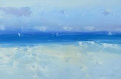 Pacific Coast, Original oil Painting, Ready to Hang