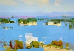 Reflections, Original Oil Painting, Handmade Artwork