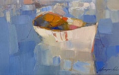 Rowboat, Print on Canvas